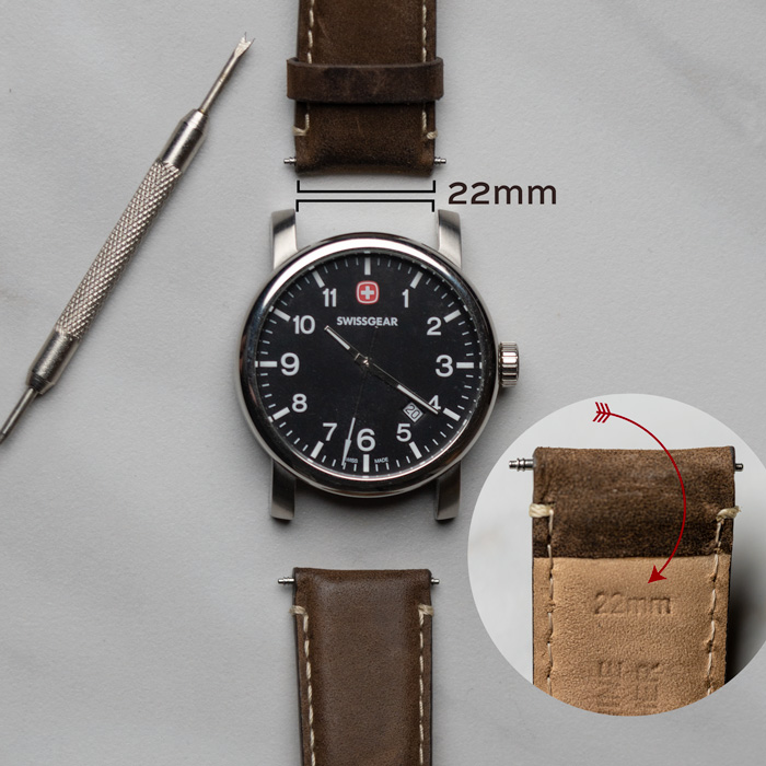 how to measure a watch band