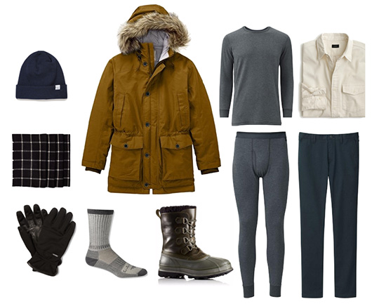 Men's winter style outfit ideas