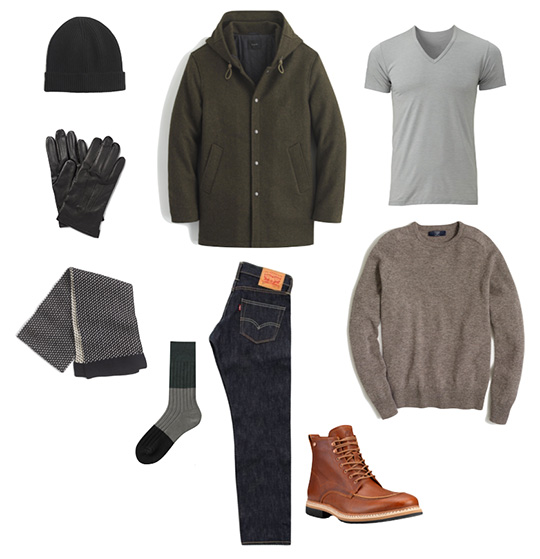 Men's Winter Style Look