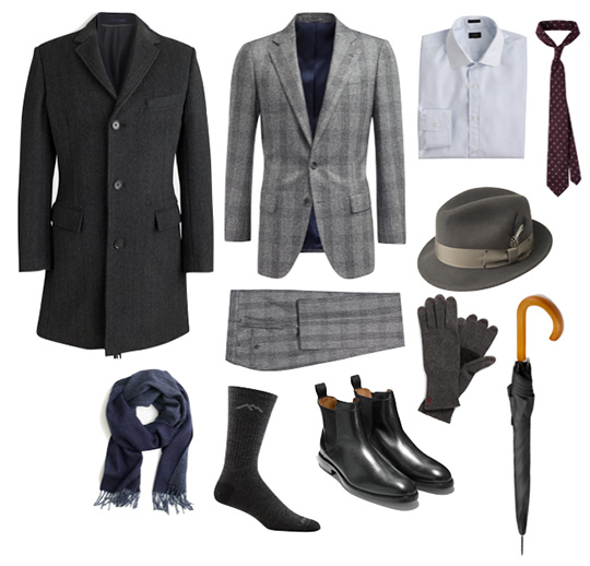 Rainy Day Men's outfit