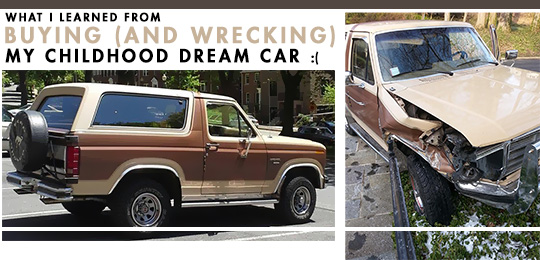 What I learned from buying and wrecking my childhood dream car - Ford bronco