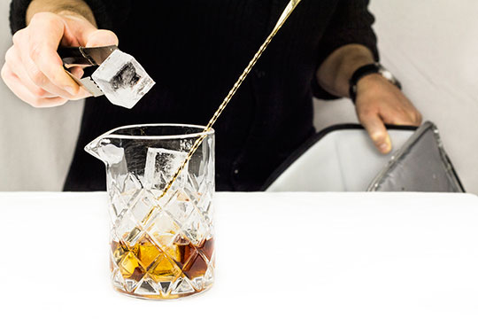 cocktail ice cube