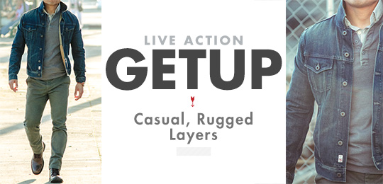 Live Action Getup: Casual, Rugged Layers