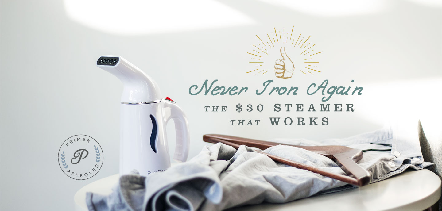 Never Iron Again: The $30 Steamer That Works