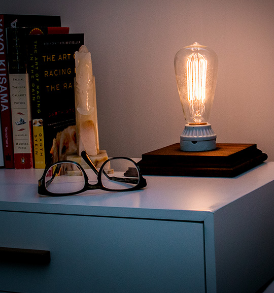 DIY Edison Bulb Table Lamp