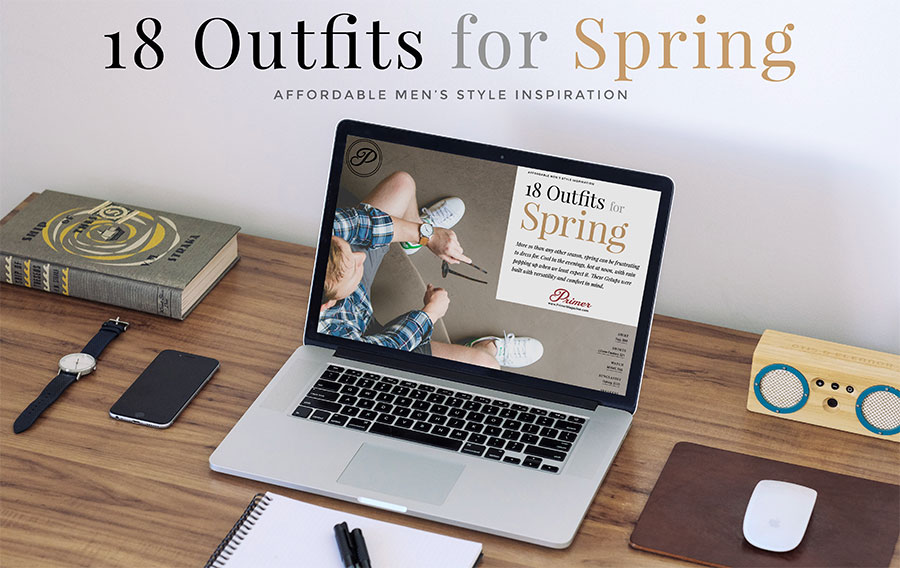 Free men's style inspiration for spring