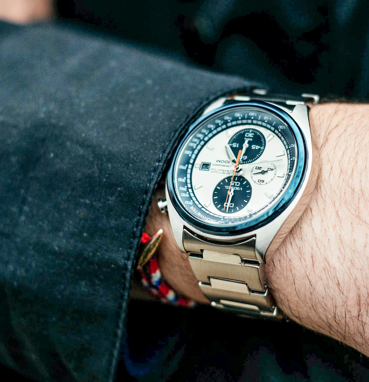 Seiko watch - men's spring outfit inspiration