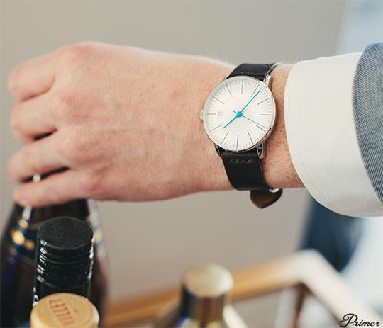 Kent Wang Bauhaus Watch - Men's Spring Style