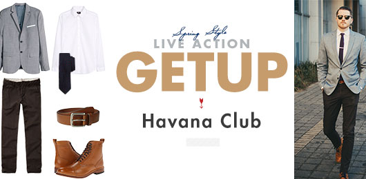 Live Action Getup: Havana Club