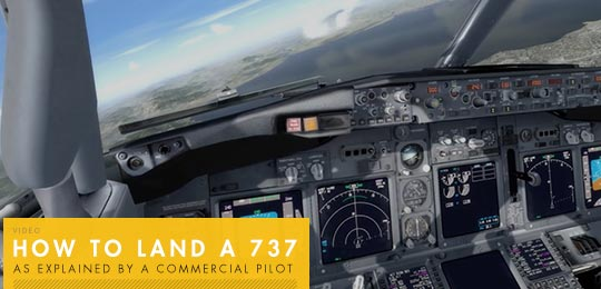 How to Land a 737, As Explained by a Commercial Pilot [video]