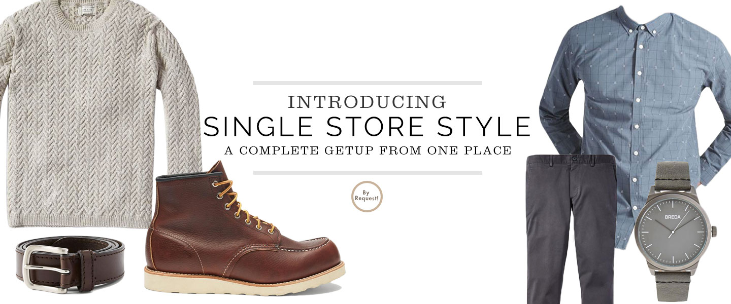 Introducing Single Store Style: A Complete Getup from One Place – The Casual Office with Frank & Oak