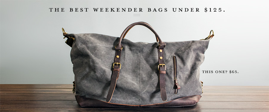 the best weekender bags under  125