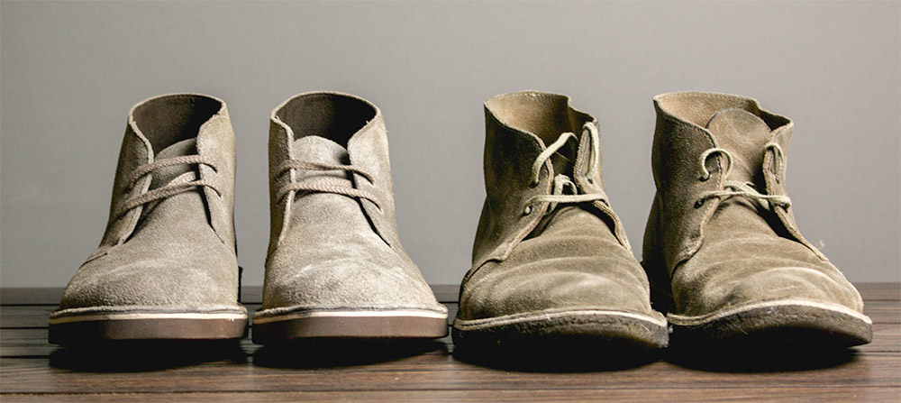 Clarks Bushacre 2 compared to Clarks Desert Boot