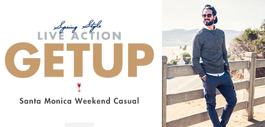 Live Action Getup: Santa Monica Weekend Casual