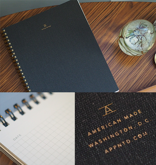 Appointed Notebook - Made in Washington DC
