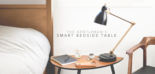 The Gentleman's Smart Bedside Table