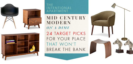 Mid Century Modern On A Dime 24 Target Picks For Your Place That Won T Break The Bank