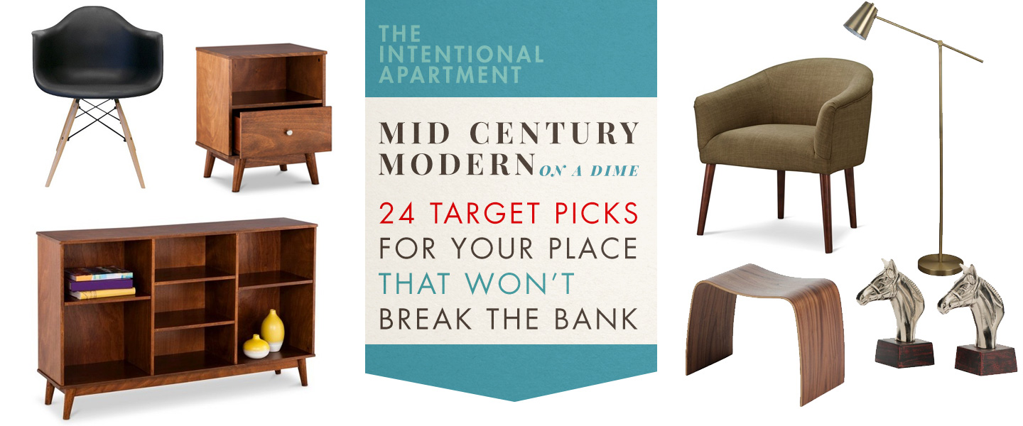 Mid Century Modern On A Dime: 24 Target Picks For Your Place That Won't Break The Bank