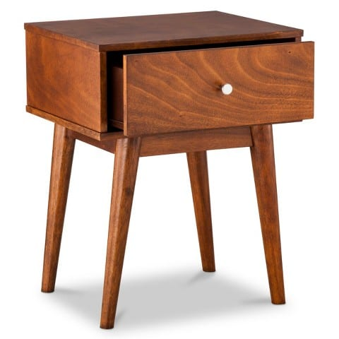 midcentury modern side table