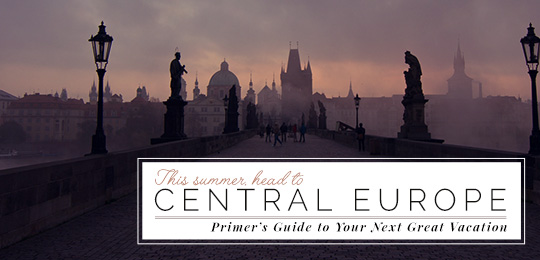 This Summer, Head to Central Europe