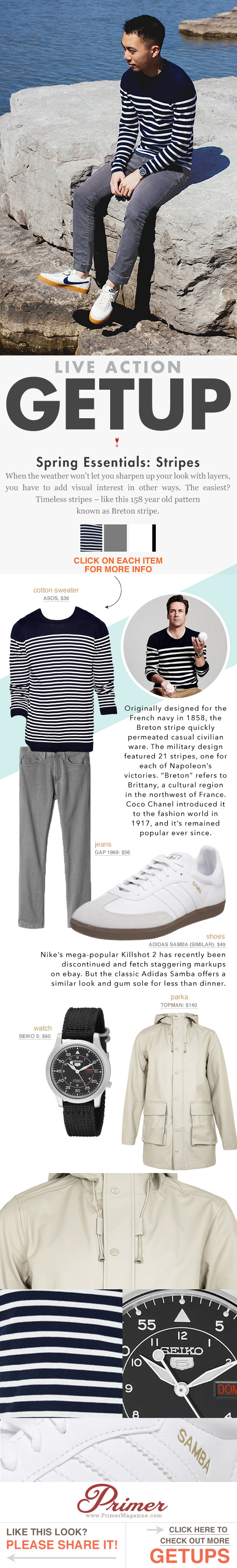 The Getup: Breton Stripe