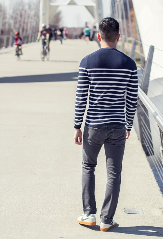 Breton Stripe Nike Killshots