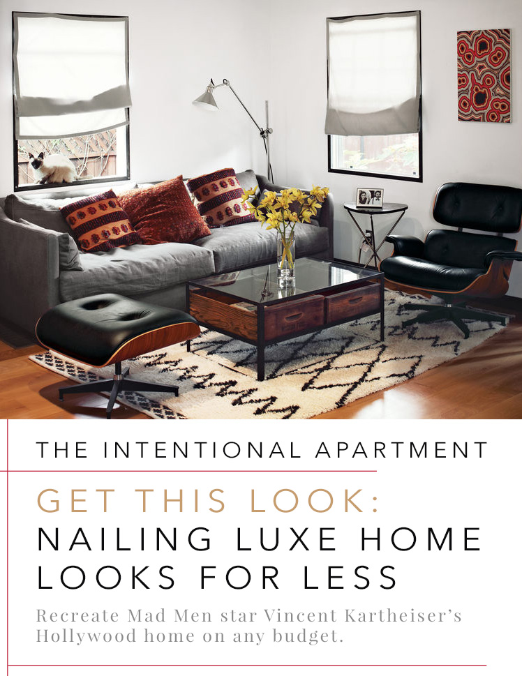 Intentional Apartment   Vincent Kartheiser Hollywood Home