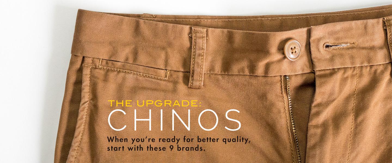 The Upgrade: Chinos