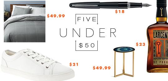 5 Under $50 – June 3