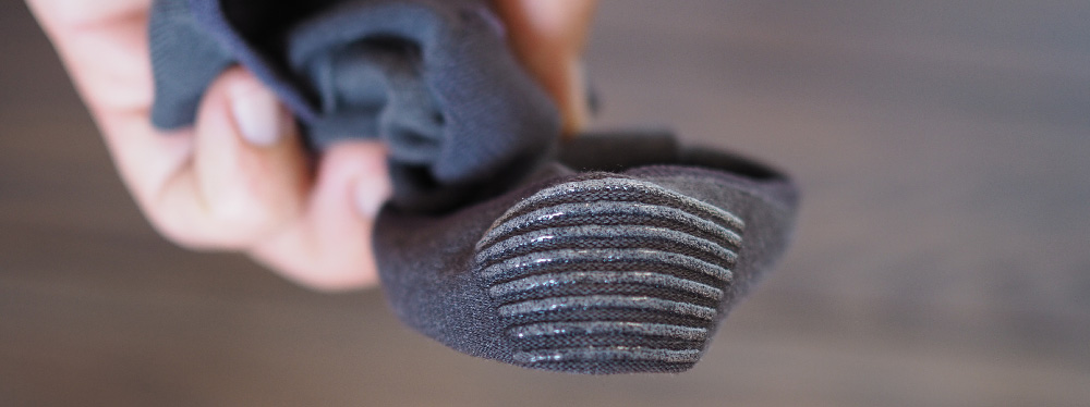 Men No show socks rubber heel