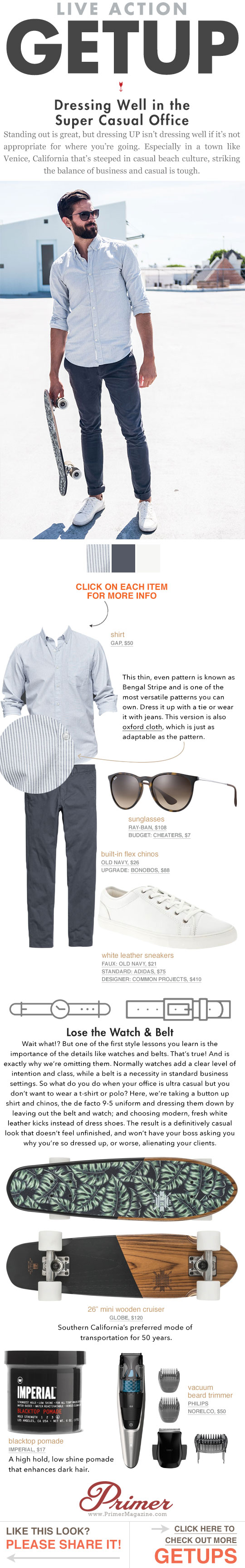 The Getup: Dressing Well in the Super Casual Office   Men's Style