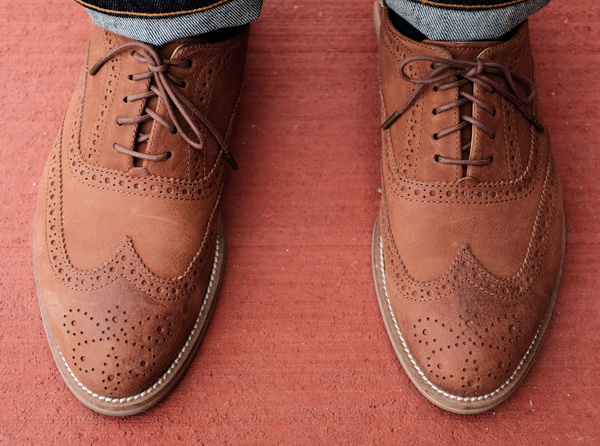 Casual wingtips - Men's Style Lab