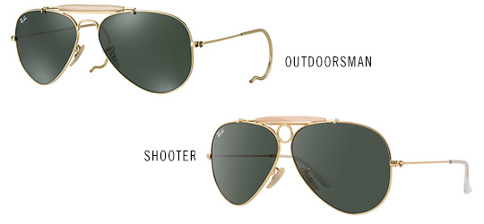 Ray-Ban Outdoorsman and Shooter