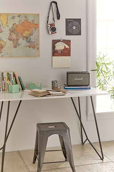 UO metal tube table