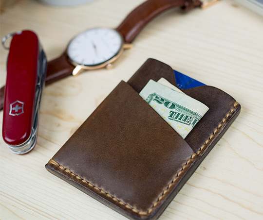 Popov leather wallet