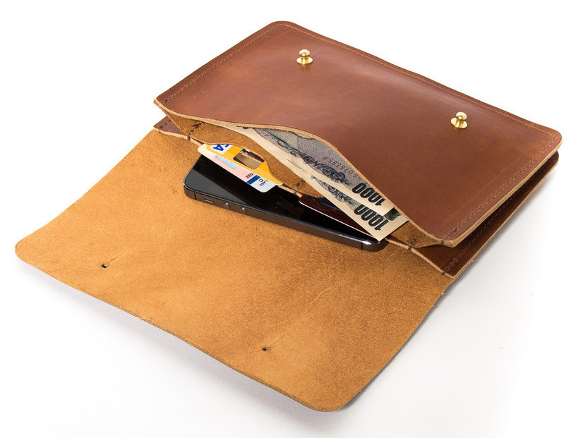 Wood and Faulk wallet