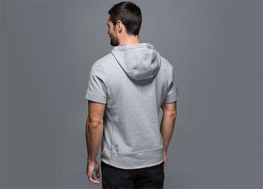 short sleeve hoodies