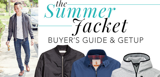 The Summer Jacket: Buyer's Guide & Live Action Getup