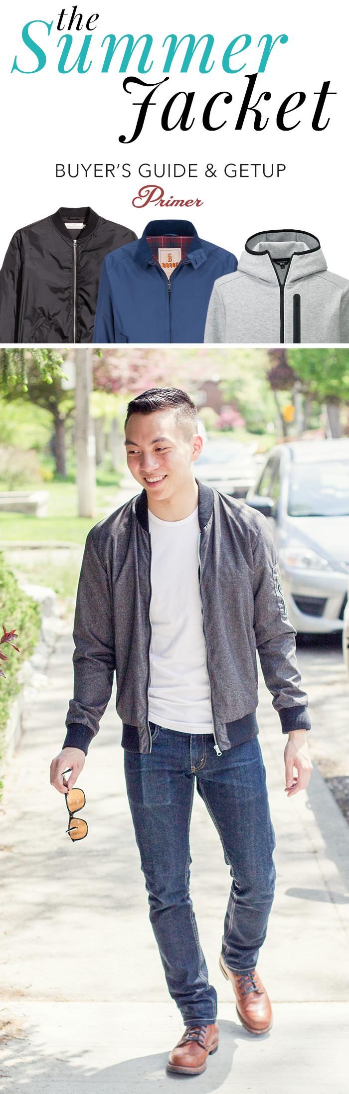 Men's Summer Jacket Buyer's Guide & Getup