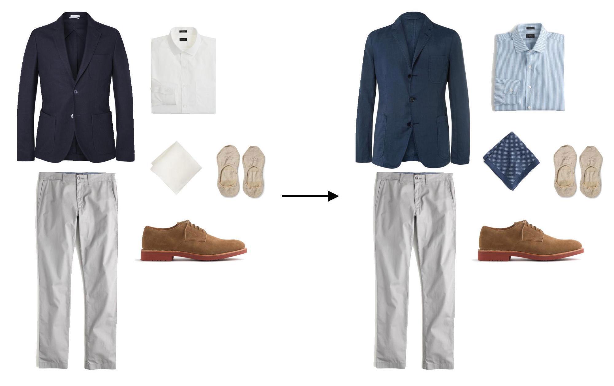 swap trick - men's style