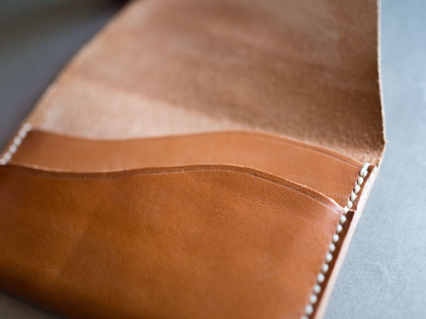 DIY Leather Wallet. How To Make A Wallet