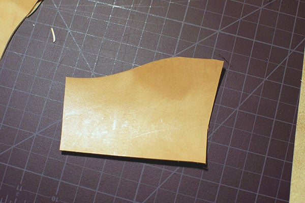 Make a leather wallet - 03