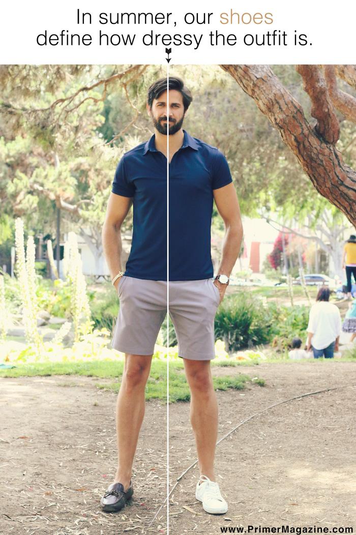 summer shoe - men's style