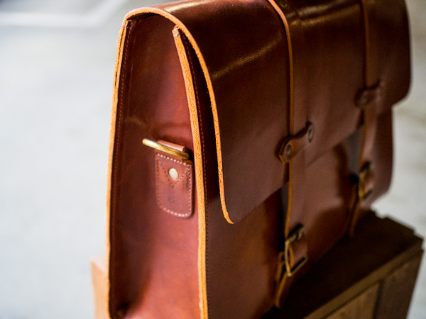 Jackson Wayne Full Leather Briefcase