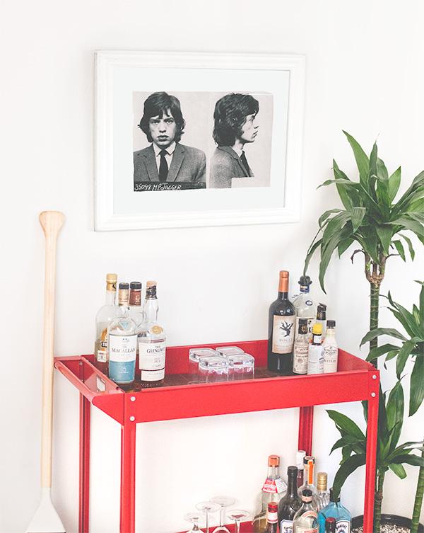 Mick Jagger Mugshot Free Art Printable - 16