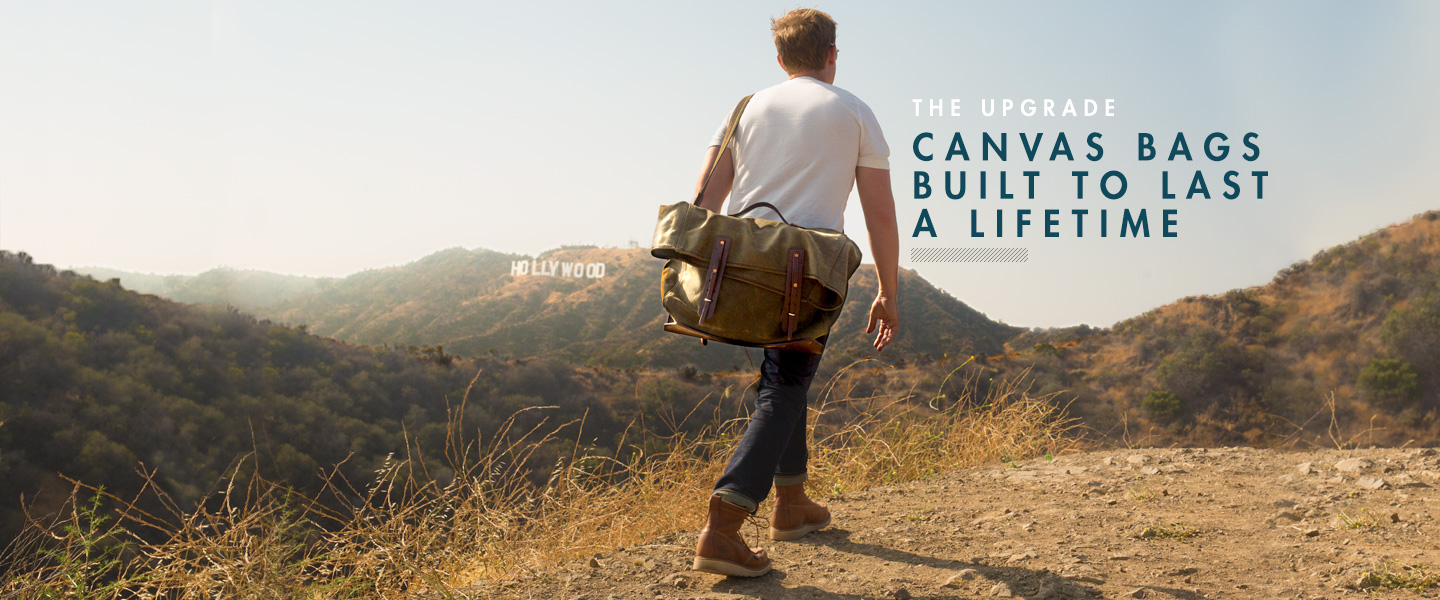 The Upgrade: The Canvas Bag Built to Last a Lifetime