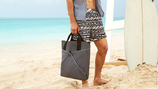 men's beach bag
