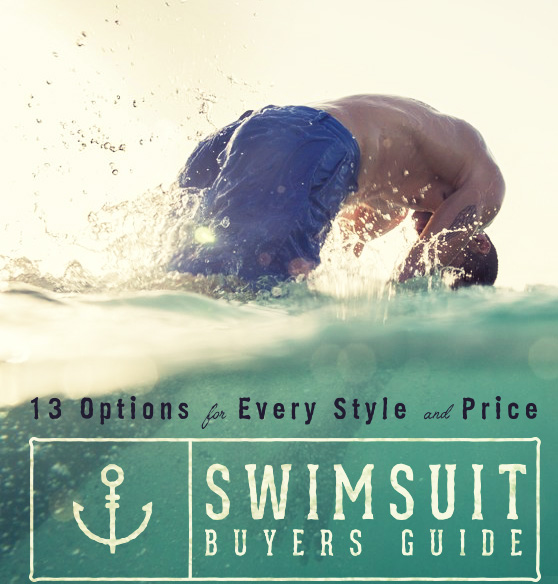 Best Men's Swimsuits - Buyer's Guide - 13 Options for Every Style & Price
