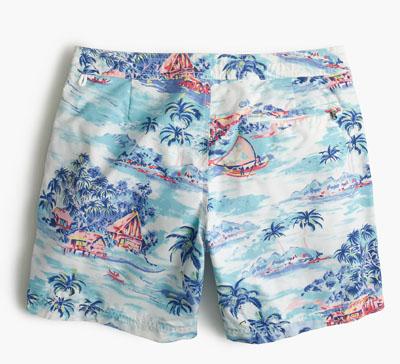 J.Crew Swim trunks