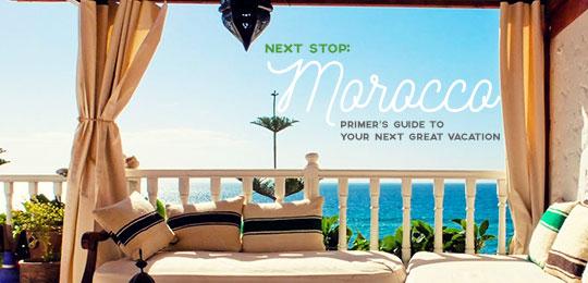 Next Stop: Morocco